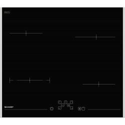 SHARP KH6V08FT00EU αυτόνομη κεραμική εστία 60cm